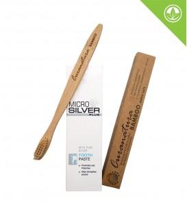 Micro Silver Plus zubní pasta + Bambusový kartáček (extra soft)