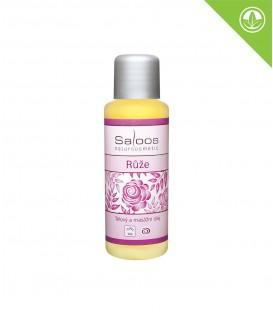 SALOOS Bio tělový a masážní olej - Růže