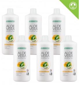 Aloe Vera Drinking Gel Traditional s medem Série 6 ks