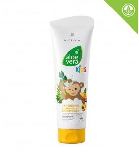 LR Aloe Vera Jungle Friends 3in1 Šampon, kondicionér & sprchový gel
