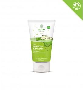 Weleda - 2 v 1 sprchový krém a šampon Veselá limetka